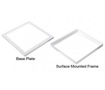 Led panel surface mount Plate