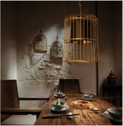 Orelia Cage Pendant Light