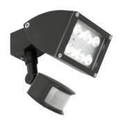 ZONE 1LT LED FLOOD W/SENSOR